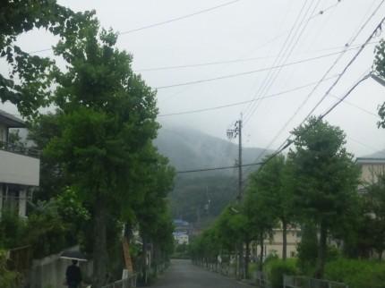 微妙な天気