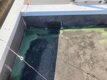 ウレタン塗膜防水の劣化
