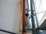 看板鉄骨の撤去