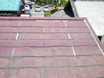 屋根カバー工法 施工前