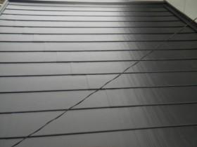 屋根カバー工法 施工後