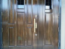 木製ドア塗装 施工後